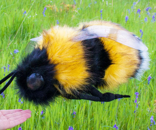 Giant Cuddly Bumblebee