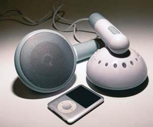 Giant Earbud Speakers