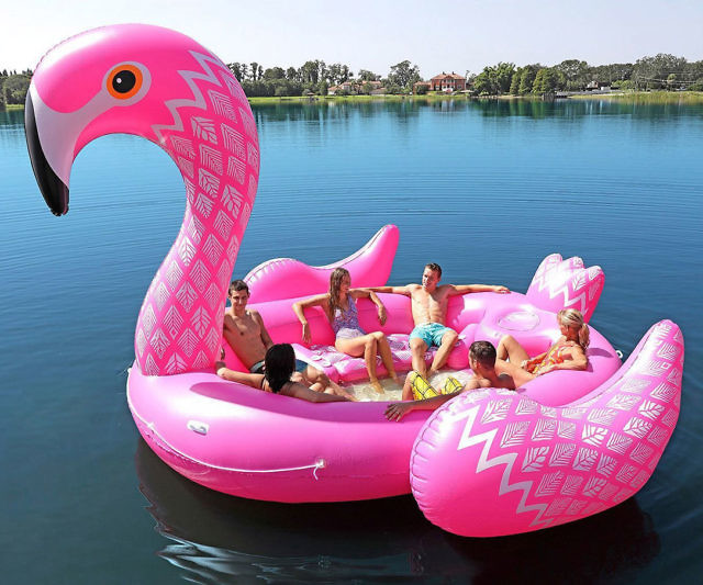 Amazing Giant Flamingo Party Float Creativecarmelina Interior Chair Design Creativecarmelinacom