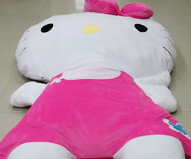 Spectacular Giant Hello Kitty Pillow Bed