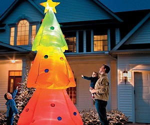Giant Inflatable Christmas Tree