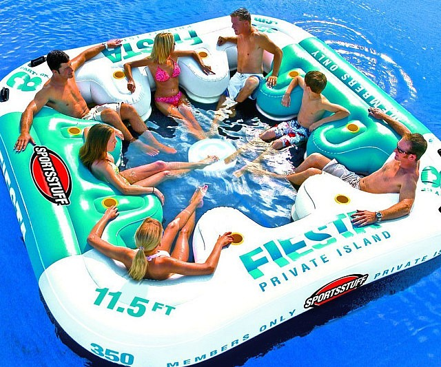 Giant Inflatable Lounger   $399.99