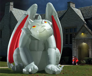 Giant Inflatable Gargoyle