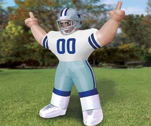 Giant Inflatable NFL Players