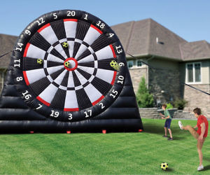 Giant Inflatable Soccer Dartboard 25283d4d5