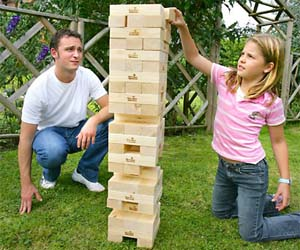 Giant Wooden Stacking Blocks
