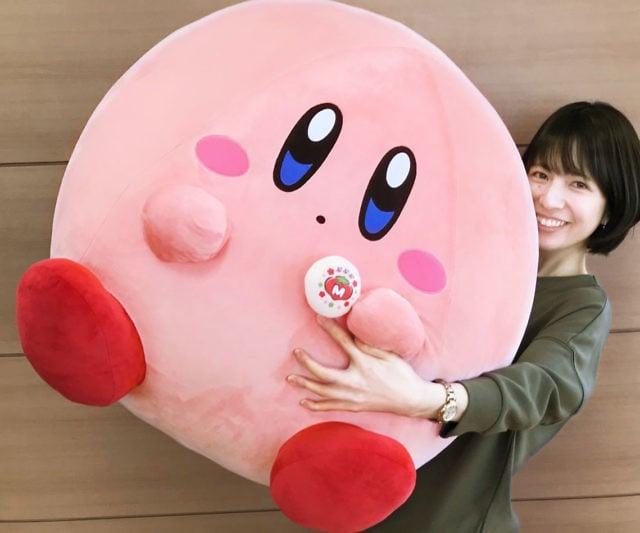 Giant Kirby Plush