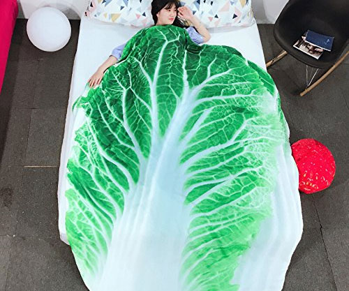 Giant Cabbage Blanket