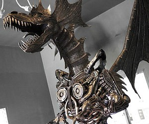 Luxury Giant Metal Dragon