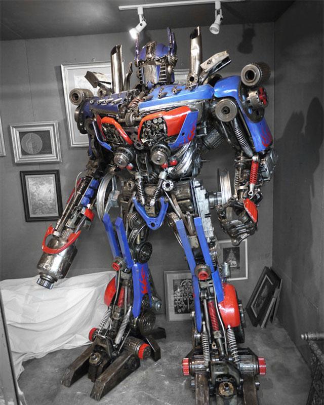 Как сделать большой робот