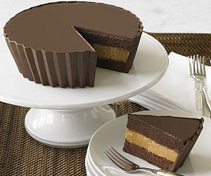 Giant Peanut Butter Cup Cake