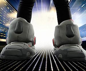 Giant Robot Slippers