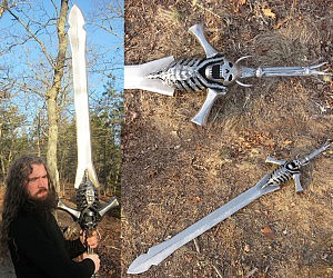 Giant Steel Sword