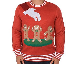 Gingerbread Nightmare Ugly Christmas Sweater