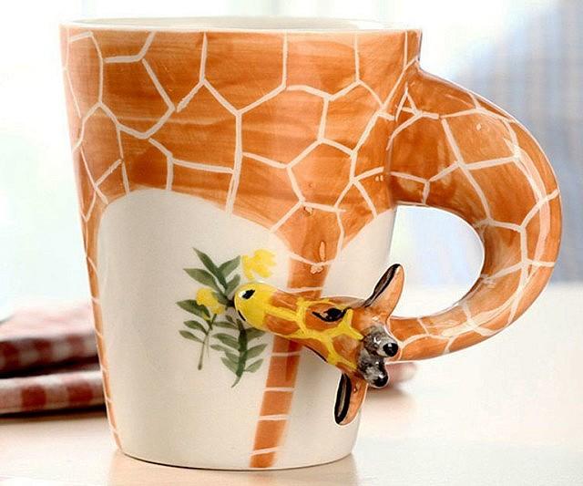 Giraffe Ceramic Mug