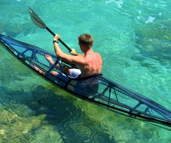 Clear Kayak