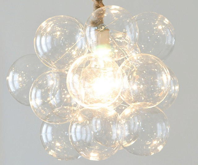 Great Glass Bubble Chandeliers