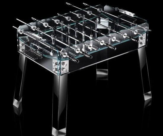 Glass Foosball Table - Foosball table cost