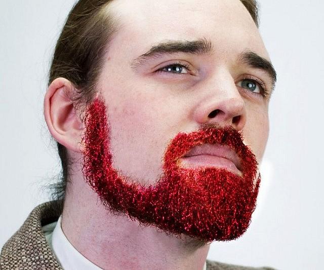 Custom Blend for Beards Single Size Specifically for Beards Beard Basics More Glitter GLITTER BEARD KIT Beard Glitter Organic Serum