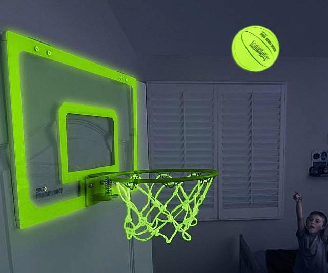 In The Dark Indoor Basketball Hoop