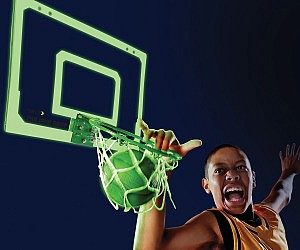 Glow In The Dark Indoor Basketball Hoop