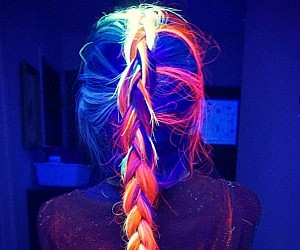 Gleam In The Dark Hair Dye