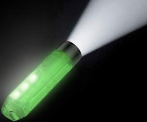 Glow In The Dark LED Flashlight