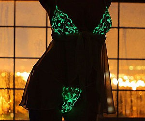 Glow In The Dark Lingerie