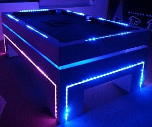 Glow In The Dark Furniture glow in the dark body paint