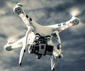 GoPro Mounted Quadrocopter