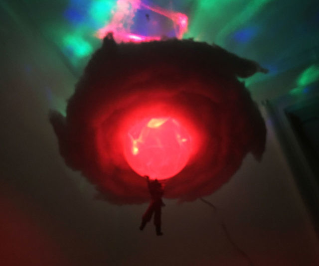 Dragon Ball Z Spirit Bomb Cloud Lamp