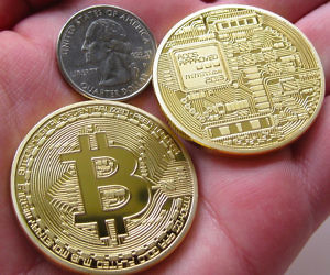 Gold Plated Bitcoins