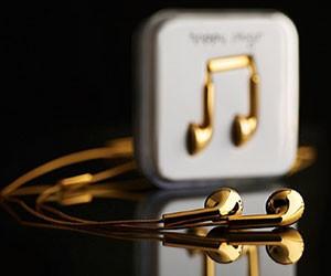 18K Earbud Headphones
