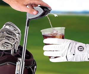 Golf Club Drink Dispenser