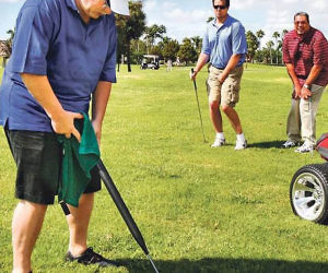Portable Urinal Golf Club