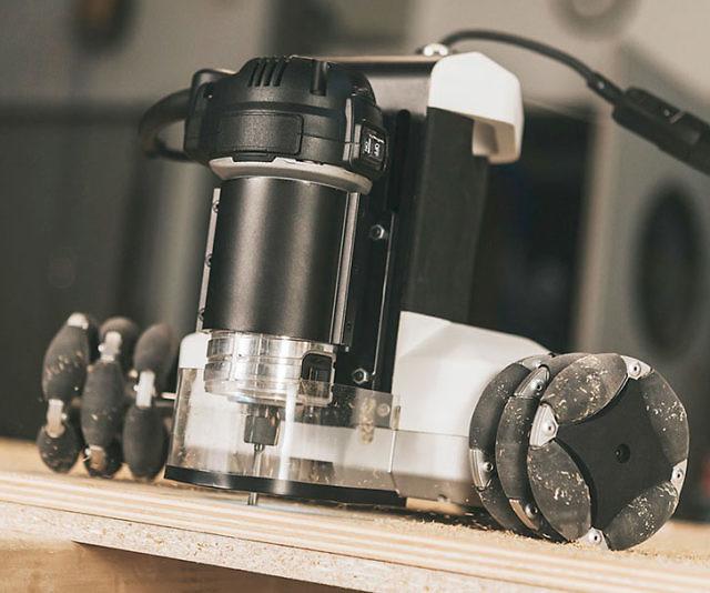 Autonomous Robotic Machine Tool