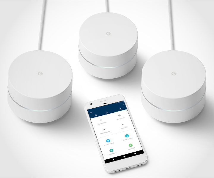 Google WiFi Mesh Network Kit