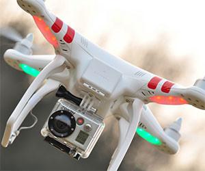GoPro Reconnaissance Quadricopter