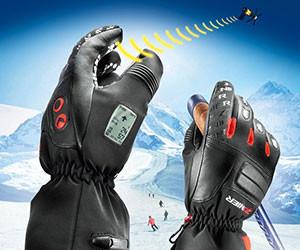 GPS Navigator Ski Gloves
