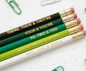 Grammar Pencil Set