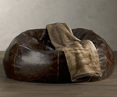 Phenomenal Grand Leather Bean Bag Bralicious Painted Fabric Chair Ideas Braliciousco