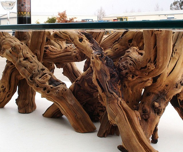 Grape Vine Coffee Table - Grapevine coffee table