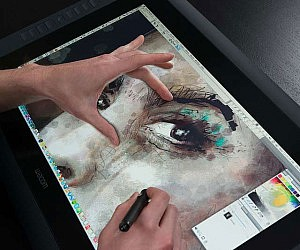 HD Touch Pen Display