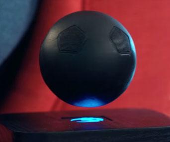 Gravity Defying Bluetooth Speaker