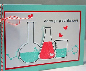 Great Chemistry Valentine's Day Card