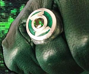 Green Lantern Replica Ring
