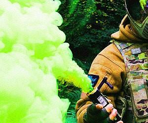 Green Smoke Grenade