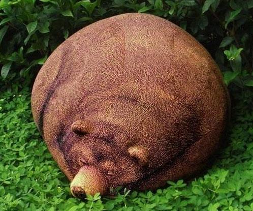 Grizzly Bear Bean Bag - Bear Bean Bag