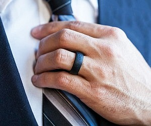 Fake Wedding Bands For Ring Bearer 97 Simple The Groove Ring