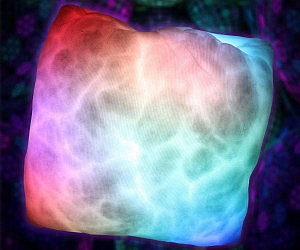 Groovy Color Changing Pillow